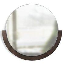 Зеркало настенное Mira D57 см темное дерево - Umbra
