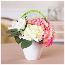 Букет Из Искусственных Цветов Высота 25 см - Huajing Plastic Flower Factory