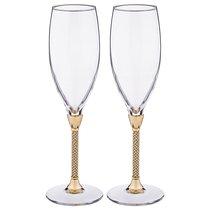 Набор Бокалов Для Шампанского Из 2 шт.250 мл Высота 25 см - Claret di Annamaria Gravina