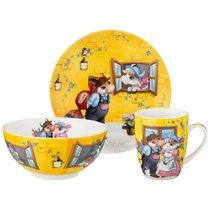 Набор Посуды Обеденный Свидание 3Пр. : 20,5см/15см/400мл - Shunxiang Porcelain