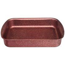Форма Agness Премиум Red Queen Прямоугольная 35Х26X6,5 см, Трехслойное Покр Granit, Pfoa Free - ISFA Metal Tekstil