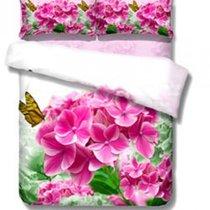 Комплект постельного белья RS-114, цвет розовый, Евро - Famille