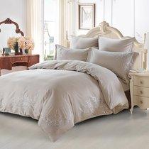 Постельное белье Karna Tera 300.TC, цвет серый, Евро - Karna (Bilge Tekstil)