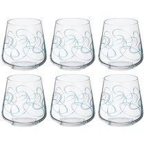 Набор стаканов из 6 шт. SANDRA 290 мл ВЫСОТА 9 см . (КОР 1Набор.) - Crystalex