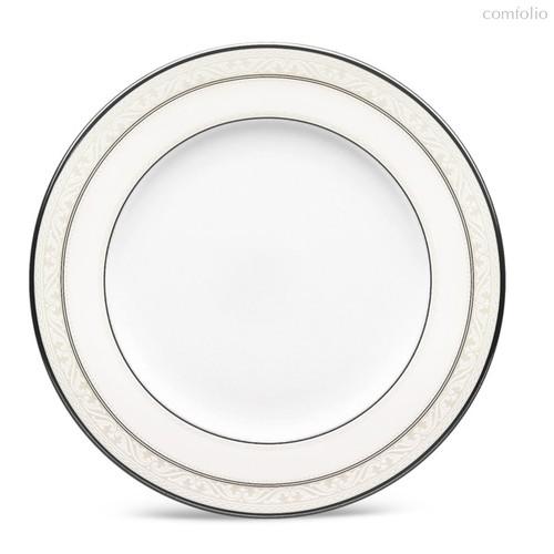 "Тарелка десертная 16,5см ""Монтвейл, платиновый кант"" - Noritake"