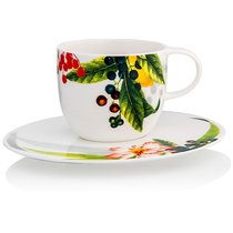 """Чашка кофейная с блюдцем 200мл """"Фруктовый сад"""" - Rosenthal"""