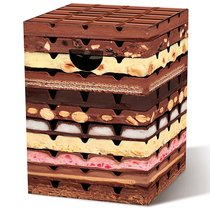 Табурет картонный Remember, Chocolate - Remember