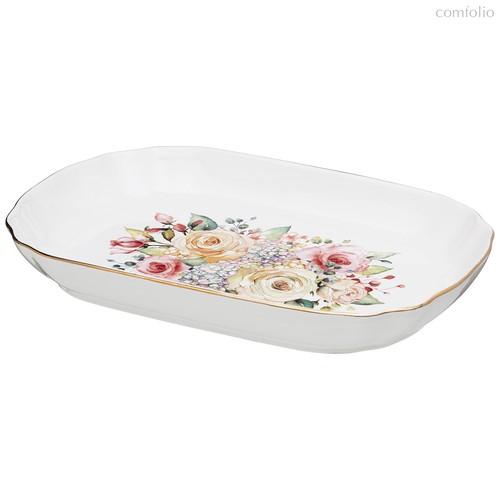 Блюдо Прямоугольное Глубокое Lefard Времена Года 25,5 см - Kingensin Porcelain Industrial
