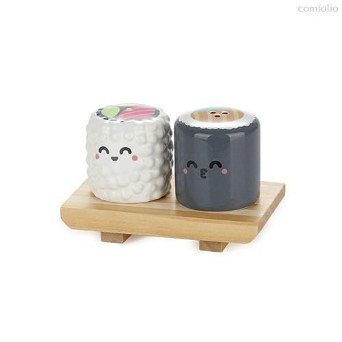 Солонка и перечница Sushi, цвет разноцветный - Balvi