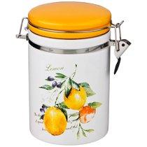 Банка Для Сыпучих Продуктов С Клипсой Итальянские Лимоны 800 мл12X10X17 см - Zhenfeng Ceramics