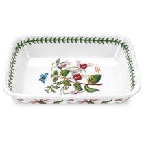"""Блюдо прямоугольное для лазаньи Portmeirion """"Ботанический сад. Фуксия"""" 23см - Portmeirion"""