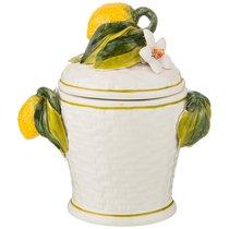 Емкость Для Продуктов 450 мл Лимоны Высота 16 см - Ceramiche d'Arte F.L.
