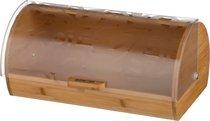 Хлебница Деревянная С Пластиковой Крышкой 36X21X17 см - JIANGMEN WELL CHANNEL