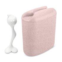 Контейнер для хранения продуктов HOT STUFF L Organic розовый - Koziol