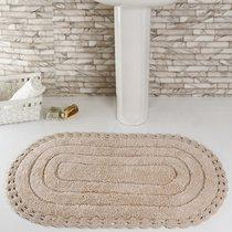 Коврик для ванной Yana, кружевной, цвет бежевый, 60x100 - Bilge Tekstil
