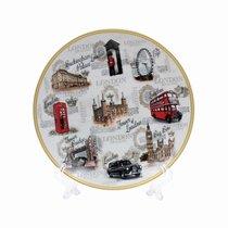 Достопримечательности Лондона Тарелка 20см - Lesser & Pavey