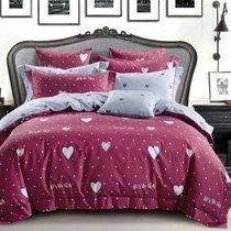 КПБ DO&CO Сатин DELUX 200*220 (50*70/2) (70*70/2) LOVE - Meteor Textile