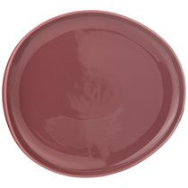 Тарелка Обеденная Fusion 27x25 см,Брусничная 2 шт. - Porcelain Manufacturing Factory