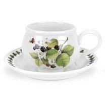 """Чашка чайная с блюдцем Portmeirion """"Помона.Ежевика"""" 200мл - Portmeirion"""