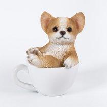 Щенок Чихуахуа в чашке 7*7.5см - Art Atelier
