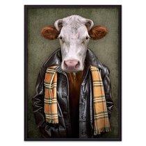Человек-корова, 21x30 см - Dom Korleone