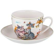Чайный Набор Пальчики Оближешь На 1Пер.2Пр.450 мл - Porcelain Manufacturing Factory