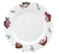 Тарелка 30 см Рыбалка - Roy Kirkham
