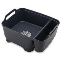 Контейнер для мытья посуды Wash&Drain™ тёмно-серый - Joseph Joseph