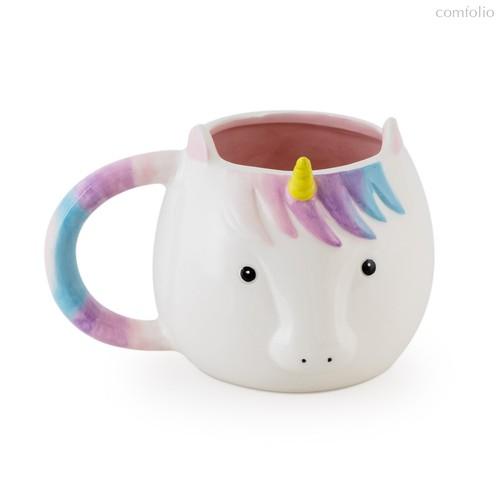 Кружка Unicorn 500мл, цвет белый - Balvi