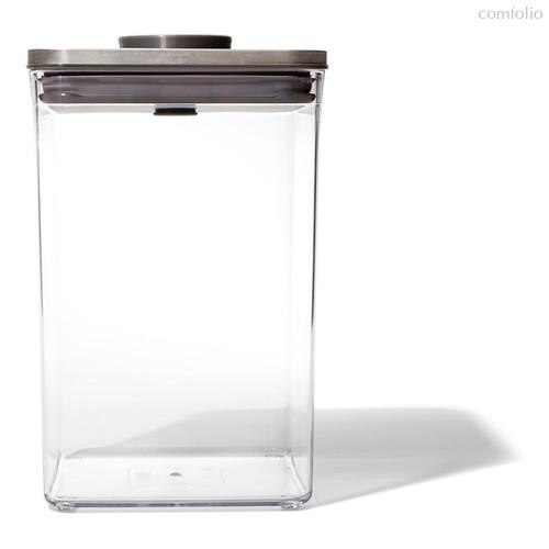 Контейнер для сыпучих продуктов с вакуумной стальной крышкой OXO 4,2л - Oxo