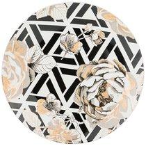 Тарелка Десертная Golden Rose 20,5 см, Геометрия - Porcelain Manufacturing Factory