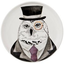 Тарелка Закусочная Fashion Animals 19 См, 18 см - Lianjun Ceramics