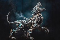 Робот Хищник 60х90 см, 60x90 см - Dom Korleone