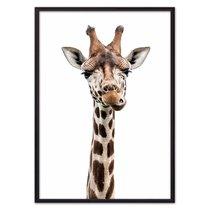 Удивленный жираф, 21x30 см - Dom Korleone