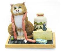 Дели кот 9,5 см - Сomic Cats - Enesco