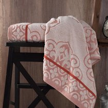 "Полотенце махровое ""KARNA"" TUNUS 70x140 см 1/1, цвет кирпичный, 70x140 - Bilge Tekstil"