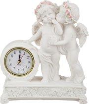 Часы Кварцевые Настольные Коллекция Amore 19x8 см Высота 23 см Диаметр Циферблата 6 см - Chaozhou Fountains & Statues