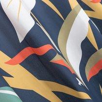 Ткань хлопок Листья ширина 220 см, 2209/1, цвет синий - Altali