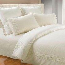 Магнолия северная - комплект постельного белья, цвет бежевый, размер 1.5-спальный - Valtery
