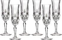 Набор Бокалов Для Шампанского Из 6 шт. Опера 130 мл Высота 20.5 см (Кор 1Набор.) - RCR
