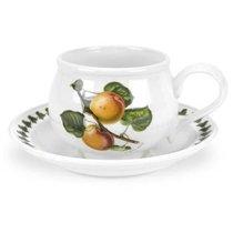 """Чашка для завтрака с блюдцем Portmeirion """"Помона.Абрикос"""" 270мл - Portmeirion"""