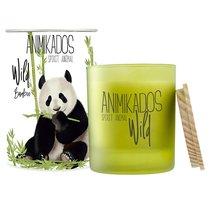 Свеча ароматическая Wild Panda Бамбуковый 40 ч - Ambientair