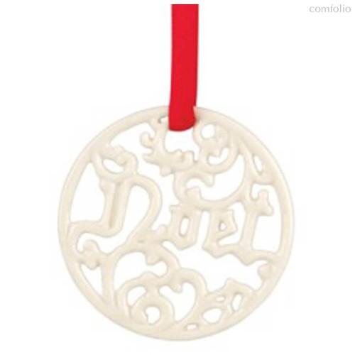 """Украшение новогоднее,медальон Lenox """"Рождество"""" 6см - Lenox"""