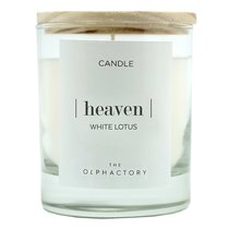 Свеча ароматическая The Olphactory, Heaven, Белый лотос, 40 ч - Ambientair