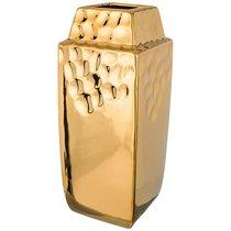 Ваза Декоративная Золотая Коллекция 11,5x11,5 см Высота 29 см - Hebei Grinding Wheel Factory