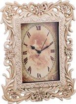 Часы Кварцевые Настольные 20, 2x6x26, 3 См Циферблат 15x10 См - Kimberley International