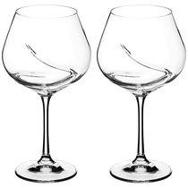 Набор бокалов для вина из 2 шт. TURBULENCE 570 МЛ ВЫСОТА=21 СМ (КОР=24Набор.) - Crystalex