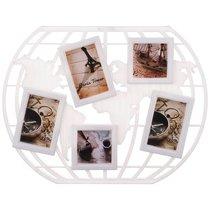 Фоторамка-Коллаж 56x42x2 см На 5 Фото 10x10/10x15 см - Polite Crafts&Gifts