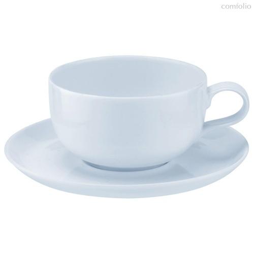 """Чашка чайная с блюдцем Portmeirion """"Выбор Портмейрион""""340мл (голубая) - Portmeirion"""