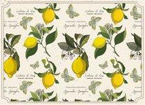 Доска разделочная стеклянная Лимонный фестиваль 40х30 см - Top Art Studio